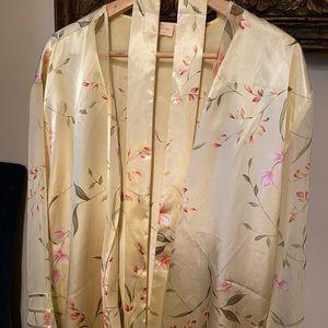 OscardelaRenta kimono with see through sleeves